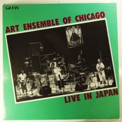 Art Ensemble Of Chicago* ‎– Live In Japan|1985  DIW ‎– DIW-8005