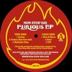 Non Stop DJs – Furious EP|2004 NSR-002 Maxi Single