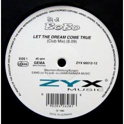 DJ BoBo – Let The Dream Come True|1994 ZYX 66012-12 Maxi Single