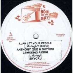 Que ‎Anthony – Jah Let Your People|Room In The Sky ‎– MBX00