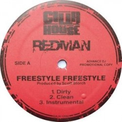 Redman – Freestyle Freestyle / Walk In Gutta|2007 GILH-1200 Maxi Single