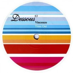 Vincenzo ‎– Time Out|2006 white Label  Maxi Single
