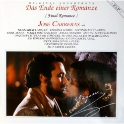 Original Soundtrack-José Carreras ‎– Das Ende Einer Romanze (Final Romance) |1988     Bellaphon ‎– 725-07-001