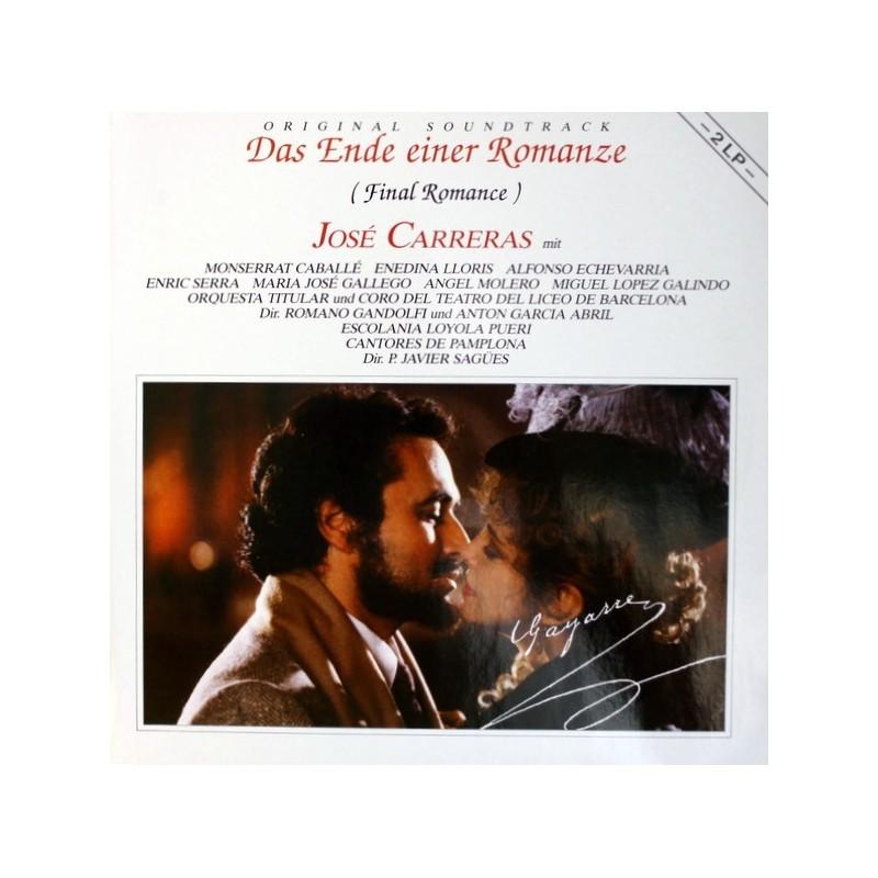 Original Soundtrack-José Carreras – Das Ende Einer Romanze (Final Romance)  1988     Bellaphon – 725-07-001