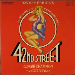Merrick David/Thomas Z. Shepard ‎– 42nd Street|1980    RCA Red Seal ‎– CBL1-3891-Musical