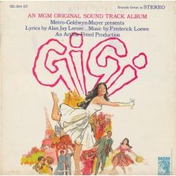 Various – Gigi - Original Cast Soundtrack Album|MGM Records – SE-3641 ST