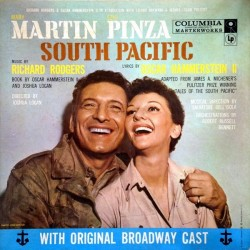 Musical – South Pacific|1957     Columbia Masterworks – OL 4180-CBS 62239