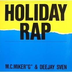 M.C.Miker &8222G&8220 & Deejay Sven – Holiday Rap|1986 608 437 Maxi Single