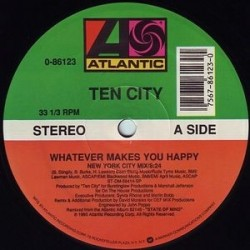 Ten City ‎– Whatever Makes You Happy|1990 Atlantic  0-86123 Maxi Single