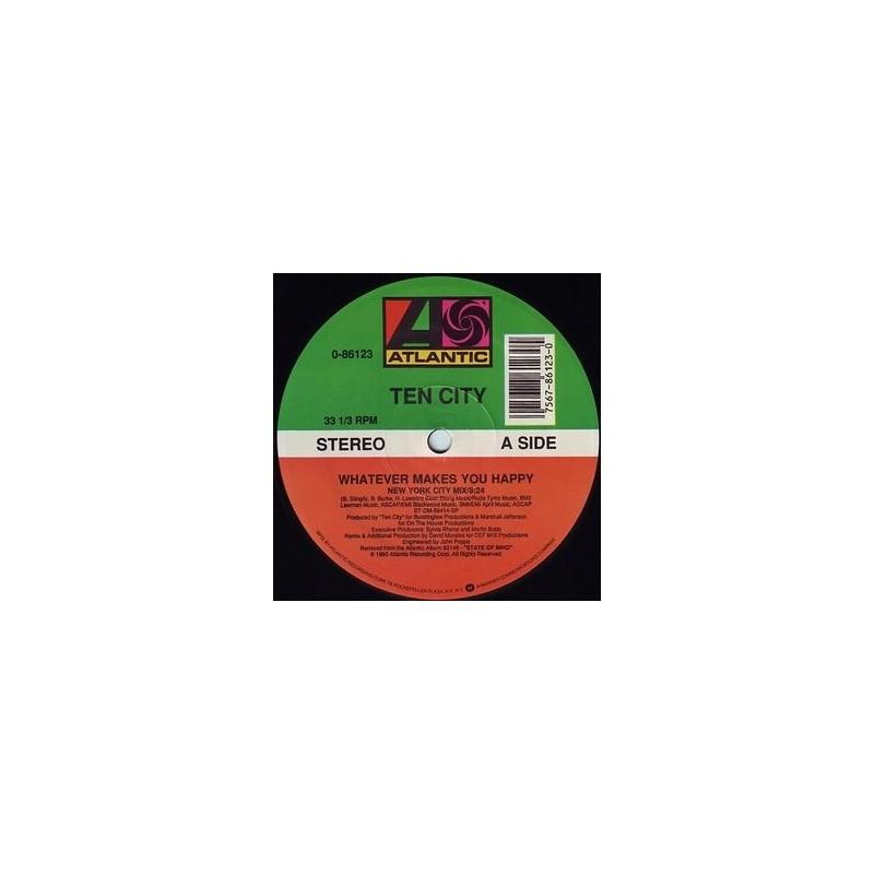 Ten City – Whatever Makes You Happy|1990 Atlantic  0-86123 Maxi Single