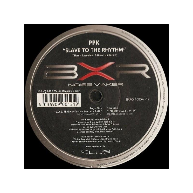 PPK – Slave To The Rhythm 2000   BXRG 1085A &8211 12 Maxi Single