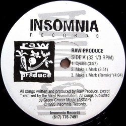 Raw Produce – Cycles / Make A Mark|1995    RP 5195-Maxisingle