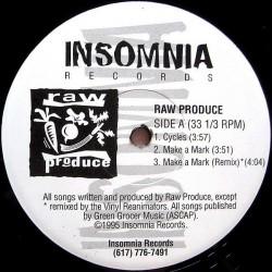 Raw Produce – Cycles / Make A Mark 1995 RP 5195-Maxisingle