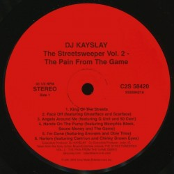 DJ Kay Slay – The Streetsweeper Vol. 2: The Pain From The Game|2004 C2S 58420