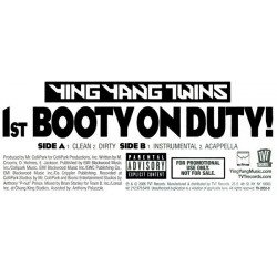Ying Yang Twins – 1st Booty On Duty!|2006  TVT Records – TV-2852-0-Maxisingle