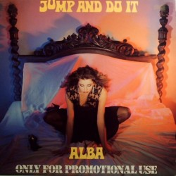 Alba ‎– Jump And Do It|1986 MKX 520 Italy Maxi Single