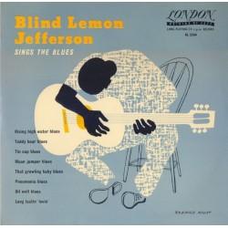 "Blind Lemon Jefferson – Sings The Blues|1957 London Records – AL 3564-10""-Vinyl"