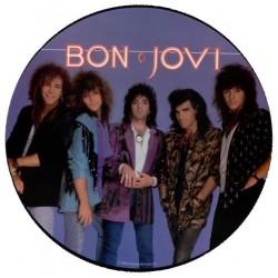 Bon Jovi – Slippery When Wet|1986 Mercury – 830 822-1 M-1-Picture Disc, Limited Edition