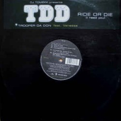 DJ Tomekk presents Trooper Da Don Feat. Vanessa - Ride Or Die |-Maxisingle