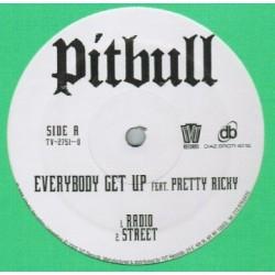 Pitbull feat. Pretty Ricky– Everybody Get Up|2005 TVT Records – TV-2751-0-Maxisingle