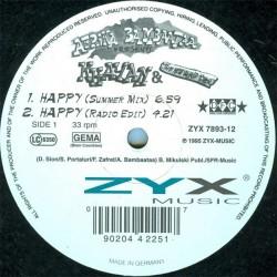 Afrika Bambaataa Presents Khayan & The New World Power– Happy|1995    ZYX 7893-12 -Maxi-Single
