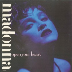 Madonna ‎– Open Your Heart |1986    Sire ‎– 920 597-0 -Maxi-Single