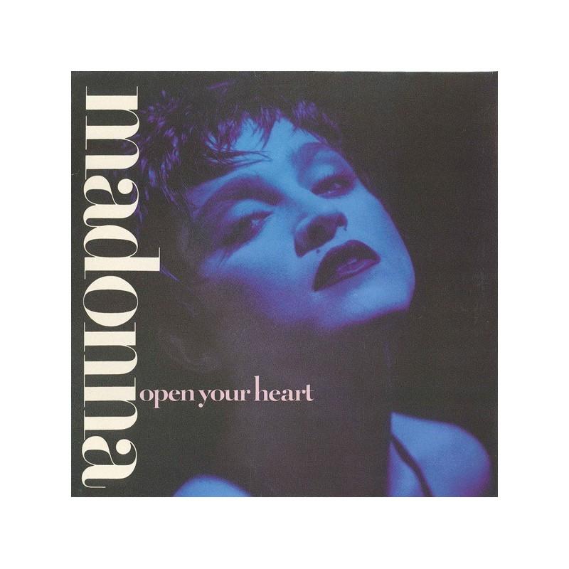 Madonna – Open Your Heart |1986    Sire – 920 597-0 -Maxi-Single