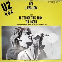 U2 – R.O.K. |1981     Island Records – 600 417 -Maxi-Single
