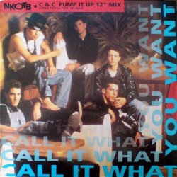 NKOTB ‎– Call It What You Want |1991     Columbia ‎– 656785 5 -Maxi-Single