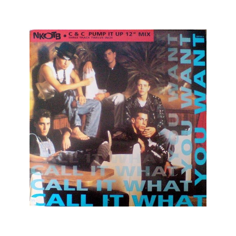 NKOTB – Call It What You Want |1991     Columbia – 656785 5 -Maxi-Single