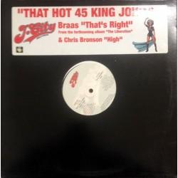 Bras / Chris Bronson – That's Right / High | JCR 01 -Maxi-Single