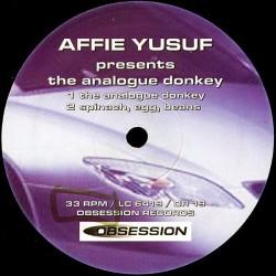Yusuf  Affie – The Analogue Donkey  1995    OR 019 -Maxi-Single