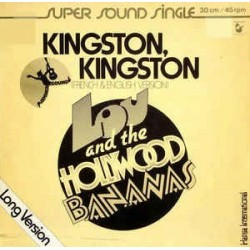Lou and The Hollywood Bananas ‎– Kingston, Kingston |1979    600 030 -Maxi-Single