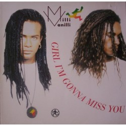 Milli Vanilli ‎– Girl I'm Gonna Miss You |1989    Hansa ‎– 612 647 -Maxi-Single