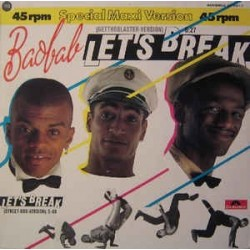 Baobab ‎– Let's Break |1984     Polydor ‎– 821 398-1 -Maxi-Single