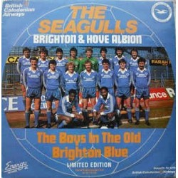 Seagulls ‎ The – The Old Brighton Blue / The Goldstone Rap |1983   NRG 2T -Maxi-Single