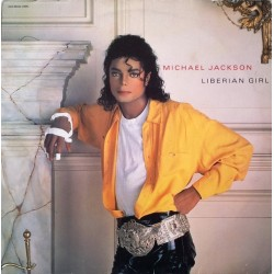 Jackson ‎Michael – Liberian Girl |1989    EPC 654947 6 -Maxi-Single