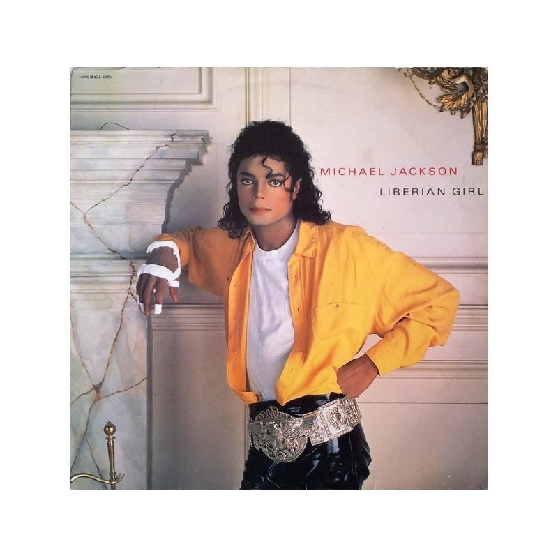 Jackson Michael – Liberian Girl |1989    EPC 654947 6 -Maxi-Single
