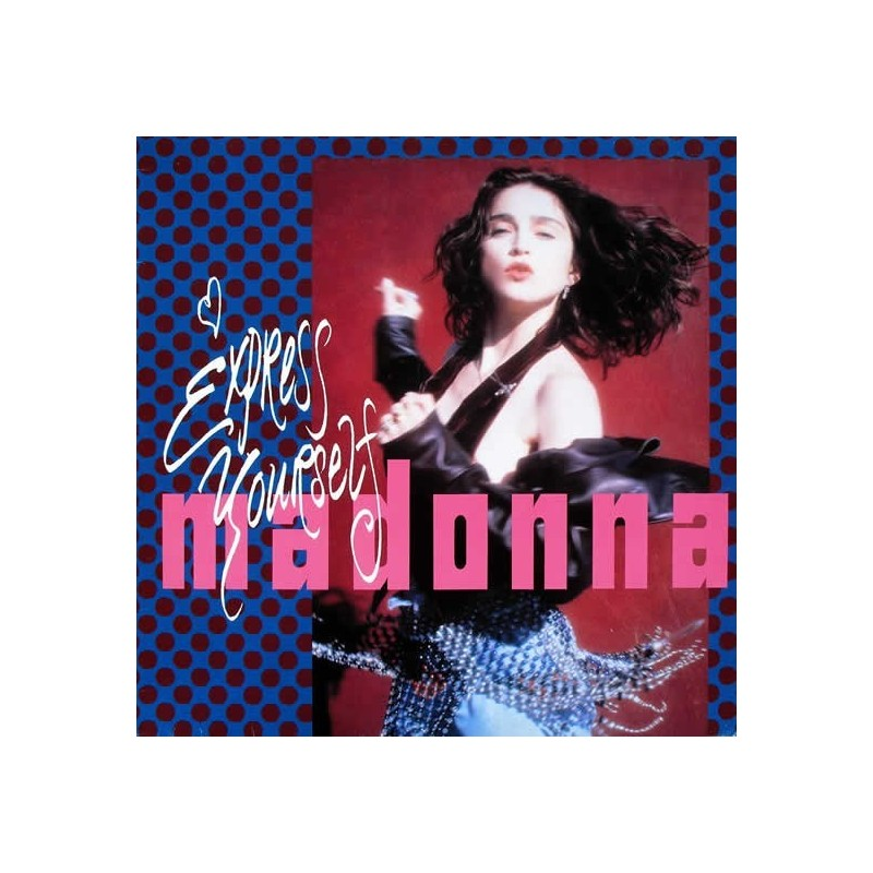 Madonna ‎– Express Yourself |1989     Sire ‎– 921 249-0-Maxi-Single