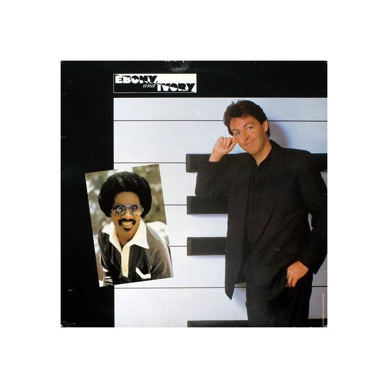 McCartney Paul – Ebony And Ivory 1982     1A 062Z-64763 -Maxi-Single